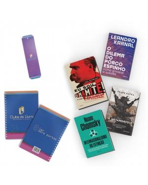 Kit 2 Especial: Clube do Livro (4 títulos e acompanha planner exclusivo) Inclui os títulos Internacionalismo ou extinção, A metamorfose, Eu sou dinamite! e O dilema do porco-espinho + Planner e marcador