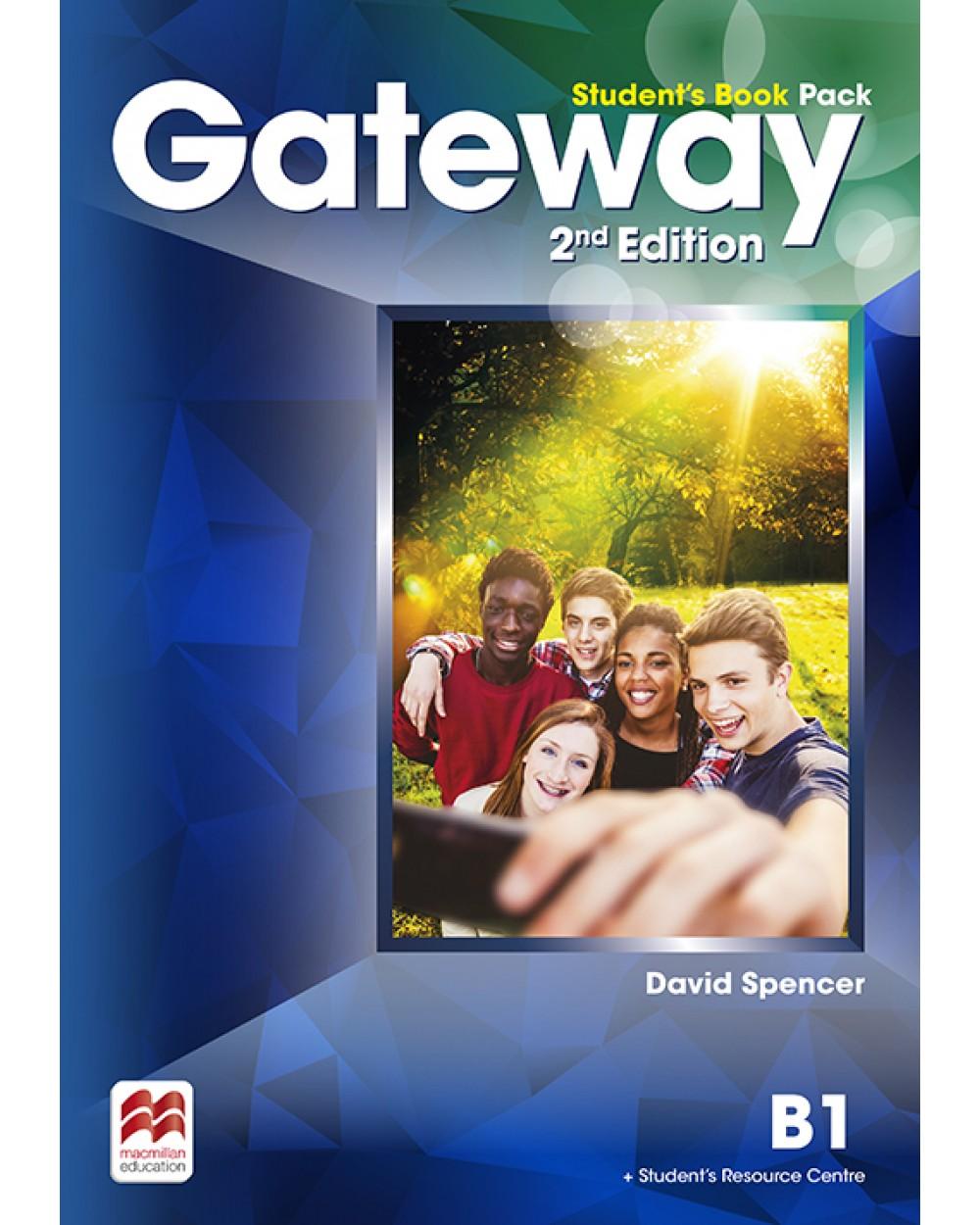 GATEWAY 2ND EDITION STUDENT'S BOOK PACK W/WORKBOOK-B1