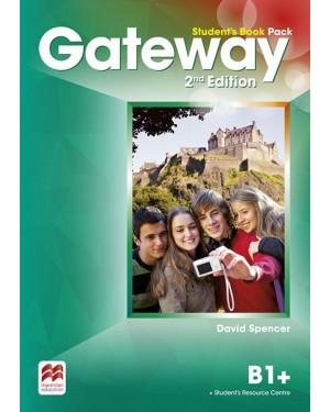 GATEWAY 2ND EDITION STUDENT'S BOOK PACK W/WORKBOOK-B1+