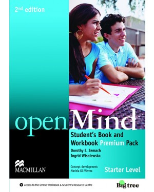 OPENMIND 2ND EDIT.STUDENT'S BOOK PREMIUM PACK-STARTER